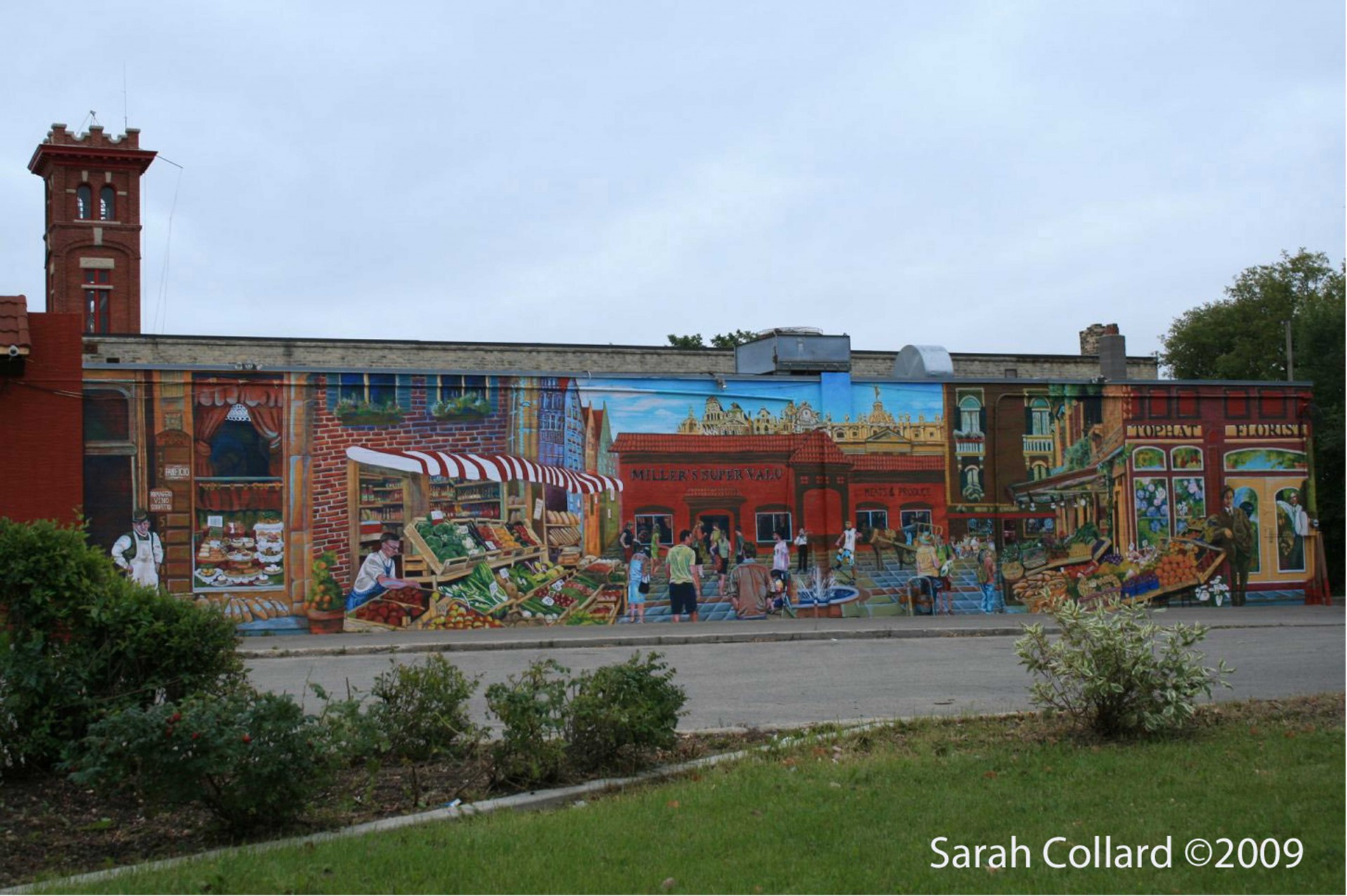 Market Mural, by Sarah Collard