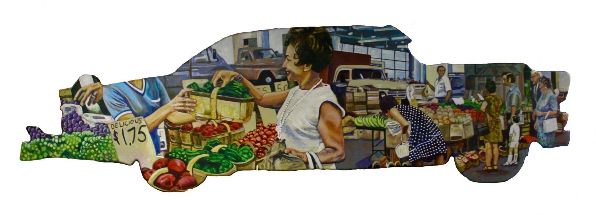 Market Memory, by Sara Collard