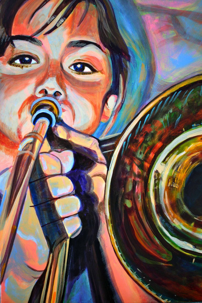 Trombone Sonja, by Sarah Collard