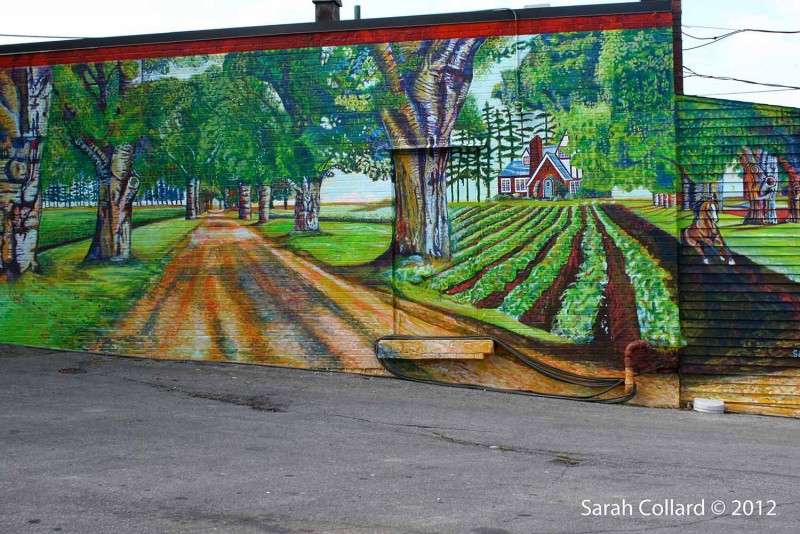 Mural Routes, Birch Cliff Mural